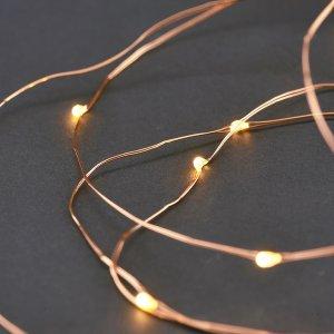 Indoor Outdoor String Lights - Copper