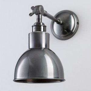 Winston Wall Light - Antique Silver
