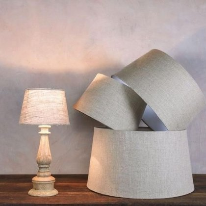 Jute Lampshade - Natural