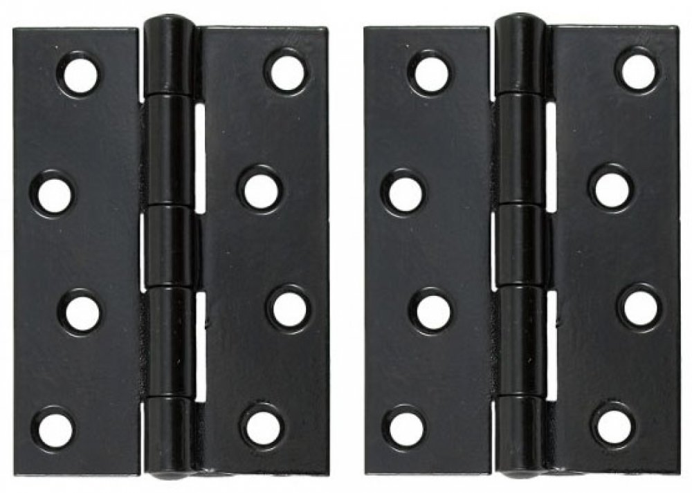 "Black 4"" Butt Hinge (pair) image"