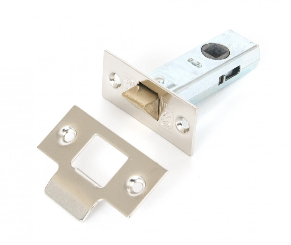 2.5'' Tubular Mortice Latch - Nickel Plated image