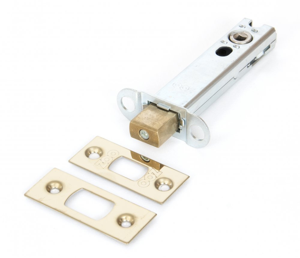 Brass 4'' Heavy Duty Tubular Deadbolt image
