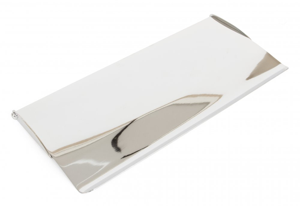 Polished Chrome Small Letterplate Cover image