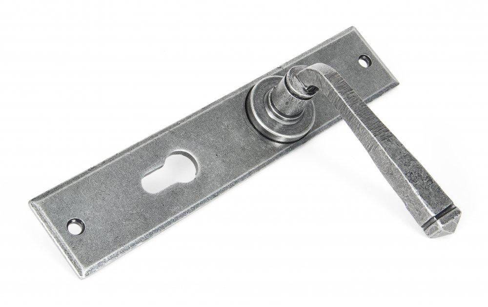 Pewter Large Avon 72mm Euro Lock Set image