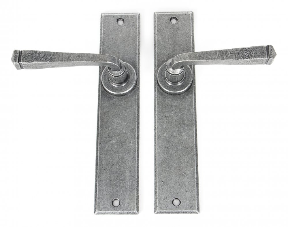 Pewter Large Avon Lever Latch Set image