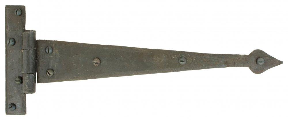 Beeswax 12'' Arrow Head T Hinge (pair) image