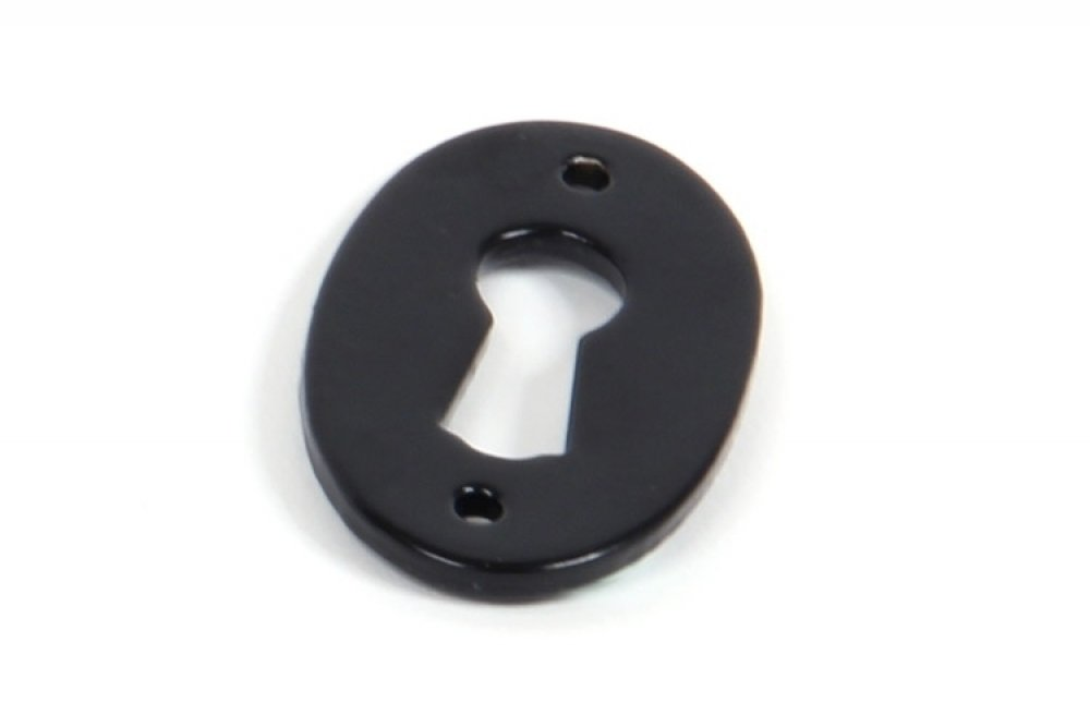 Black Oval Escutcheon image