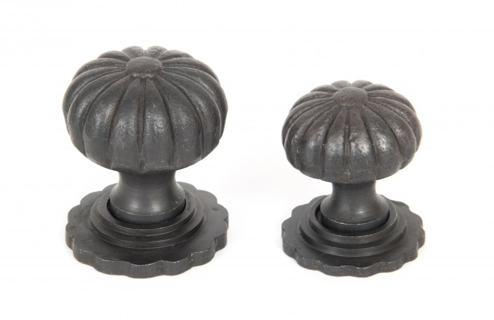 Beeswax Cabinet Knob with Base - Small image