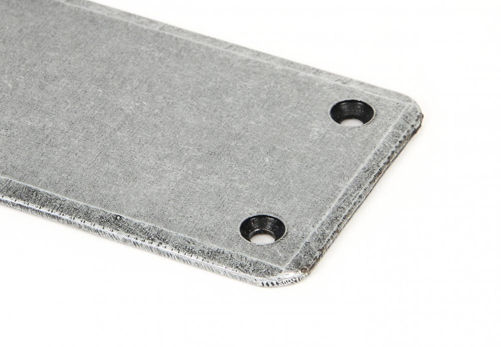Pewter Plain Fingerplate image