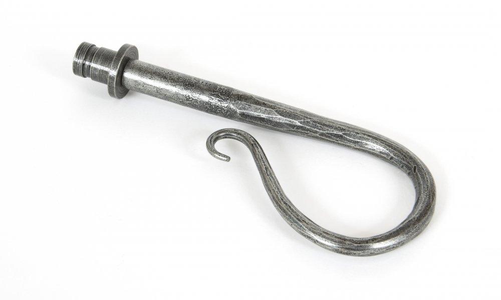 Shepherd's Crook Finial (pair) - Pewter Patina image