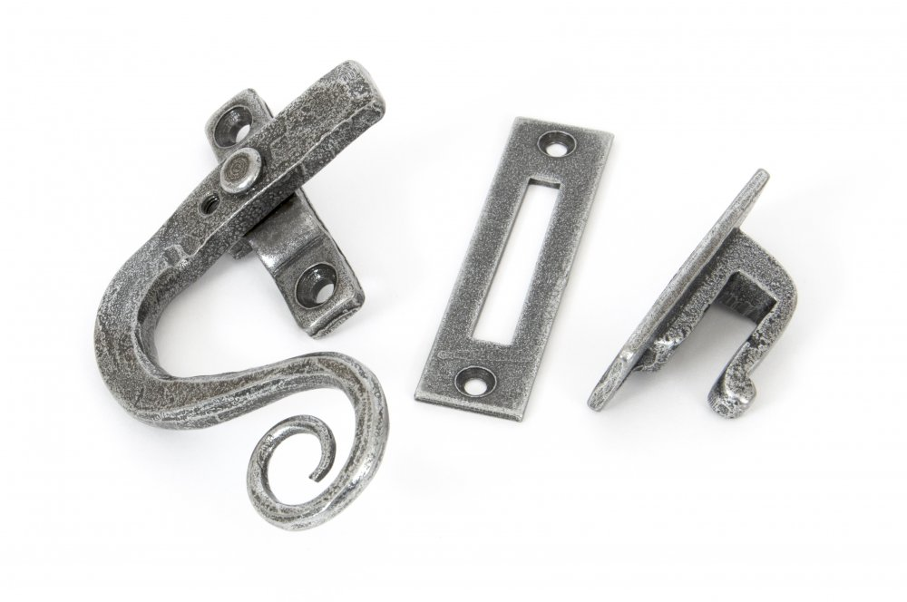 Pewter Monkeytail Fastener LH - Locking image