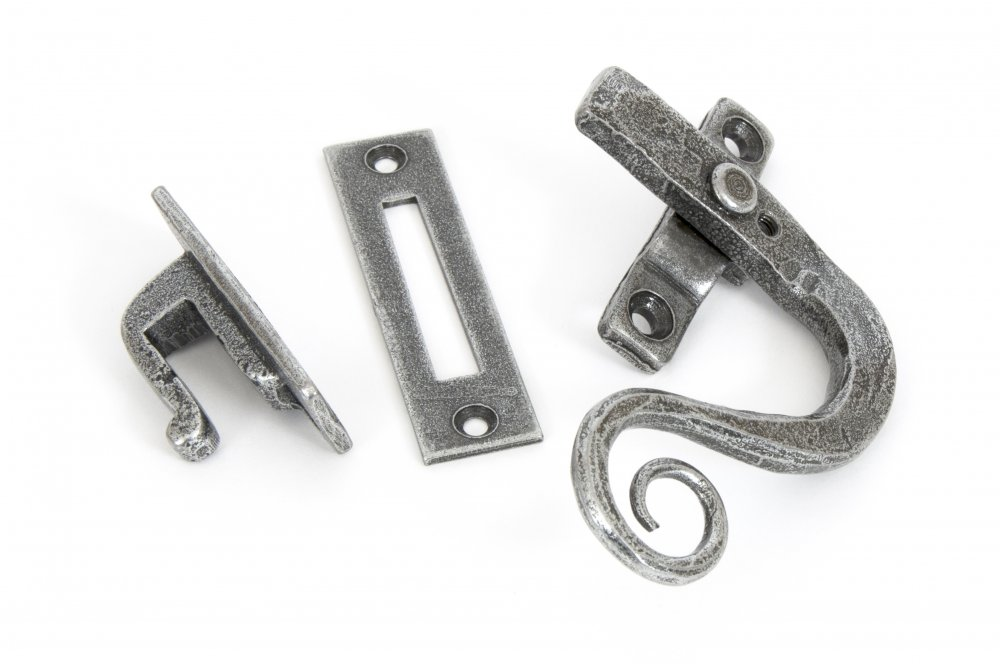 Pewter Monkeytail Fastener RH - Locking image