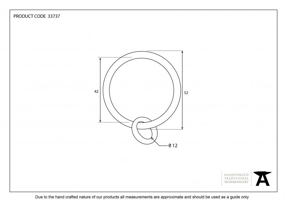 Pewter Curtain Ring image