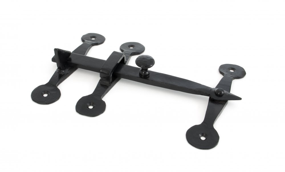 Black Oxford Privacy Latch Set image