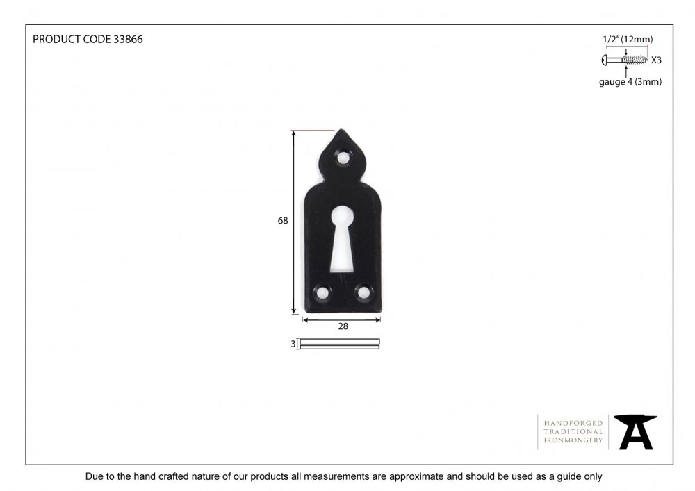 Black Gothic Escutcheon image