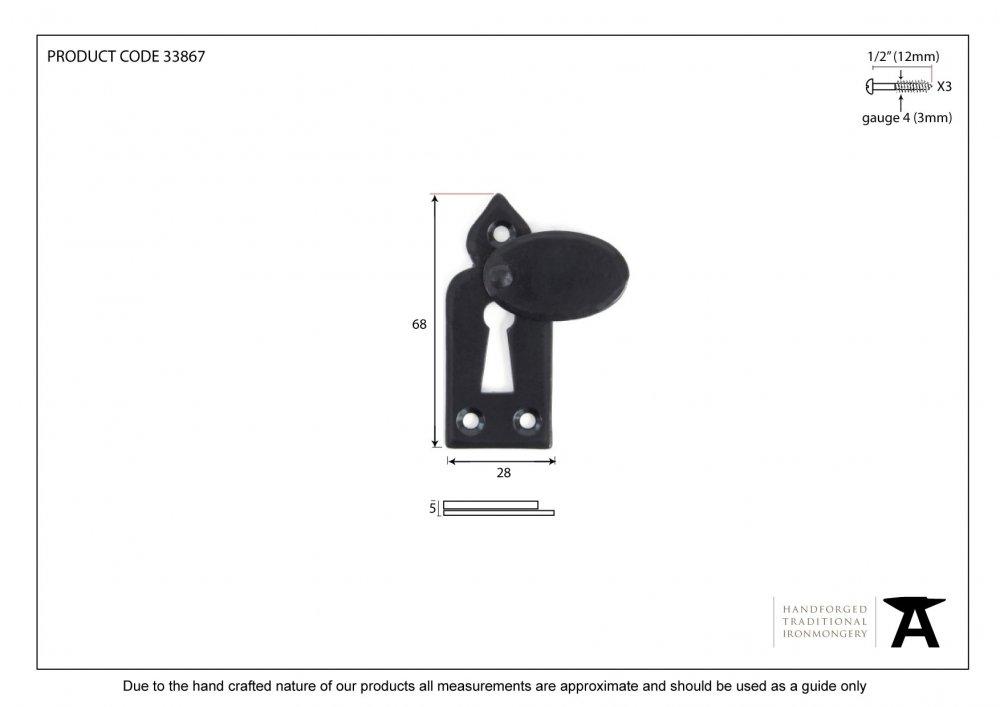 Black Gothic Escutcheon & Cover image