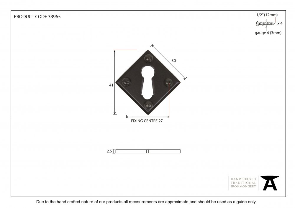 Black Diamond Escutcheon image