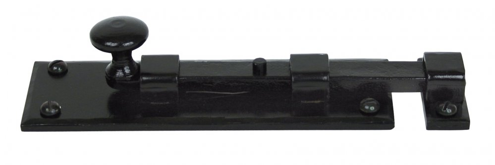 Black 6'' Straight Knob Bolt image