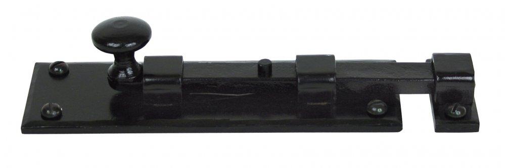 Black 6'' Straight Knob Bolt image