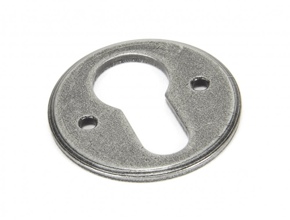 Pewter Regency Euro Escutcheon image