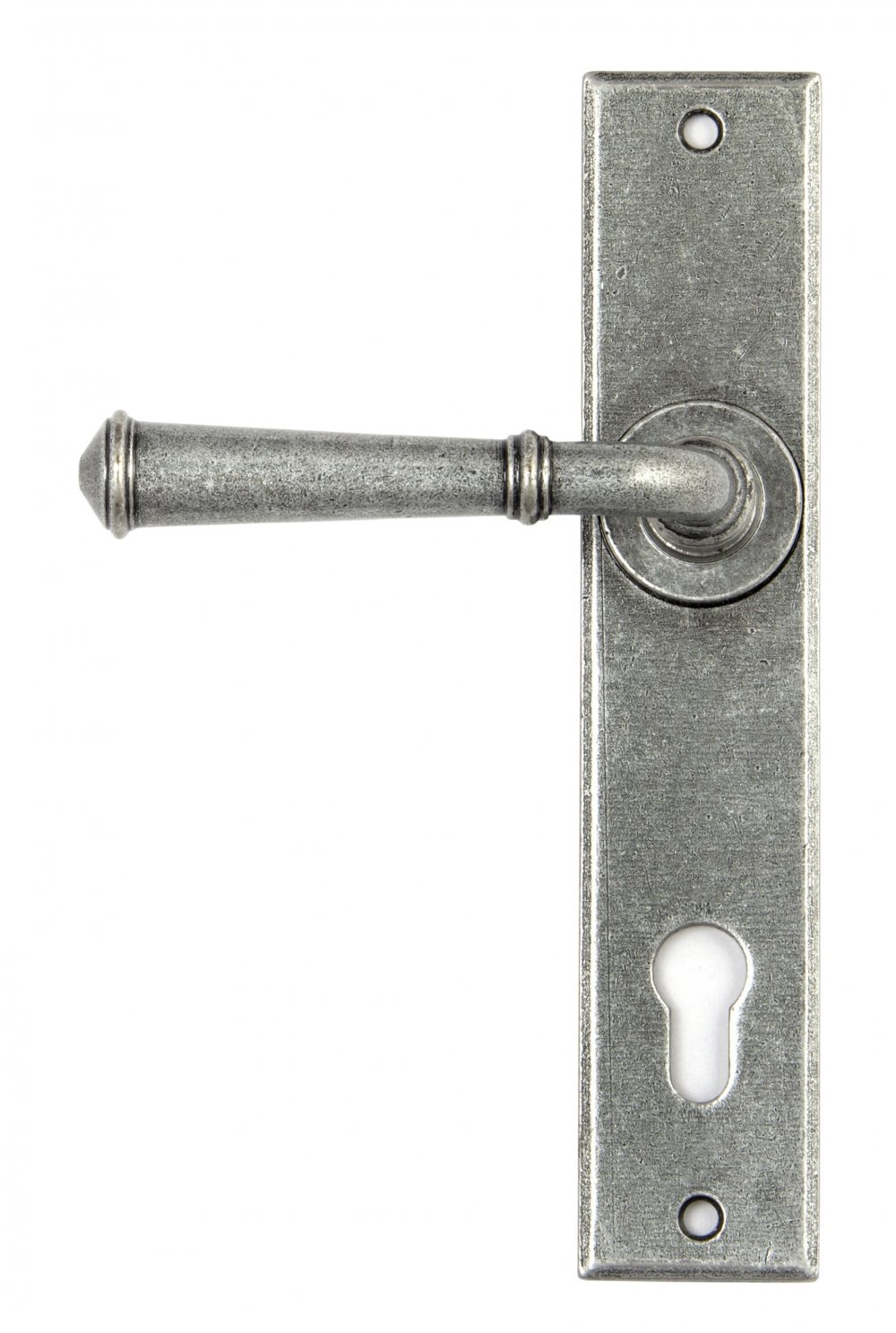 Pewter Regency Lever Espag. Lock Set image