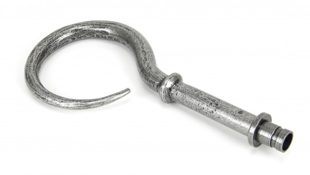 Pewter Hook Curtain Finial (Pair) image