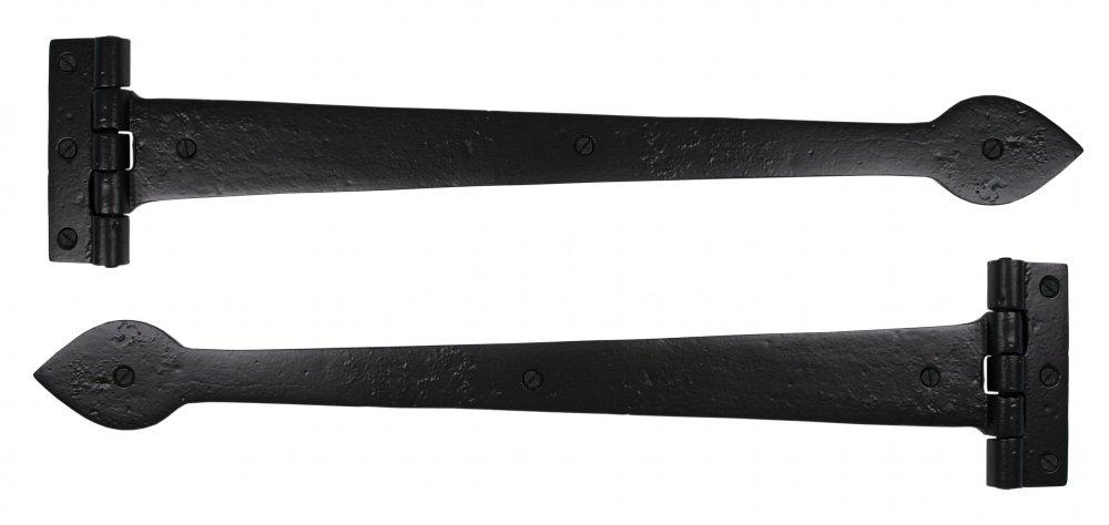"Black Smooth 18"" T Hinge (pair) image"