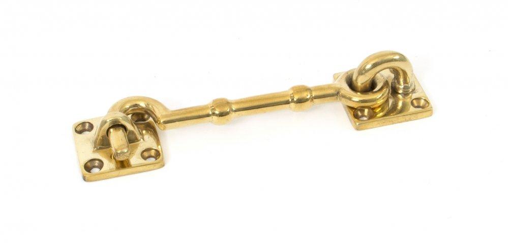 Polished Brass 4'' Cabin Hook image