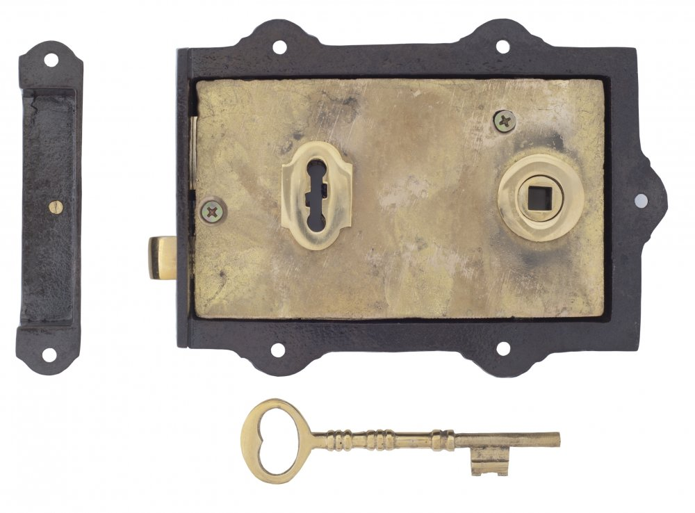 Iron Davenport Rim Lock image
