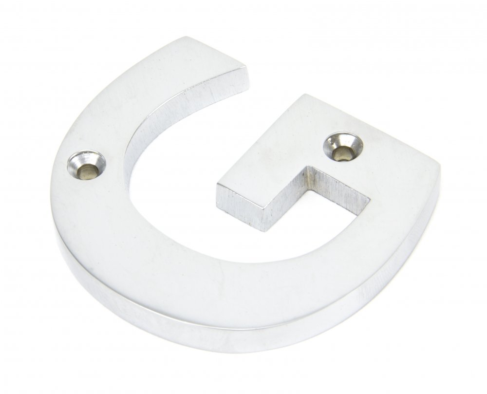 Satin Chrome Letter 'G' image