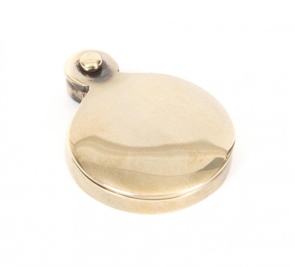 Aged Brass Round Escutcheon image