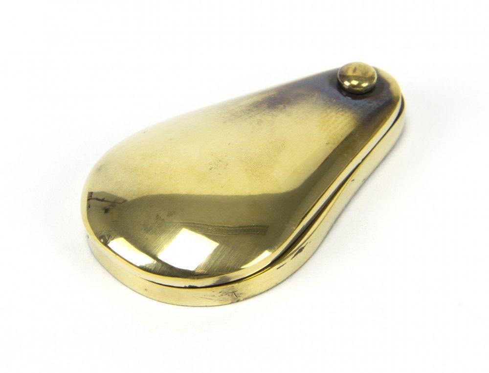Aged Brass Plain Escutcheon image