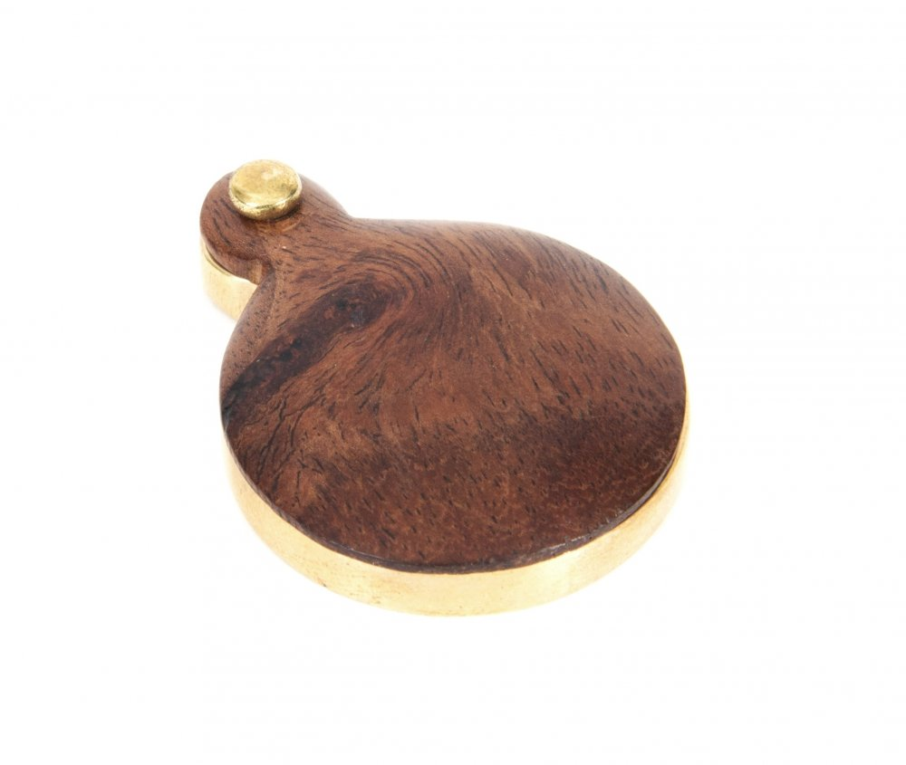 Rosewood Round Escutcheon image