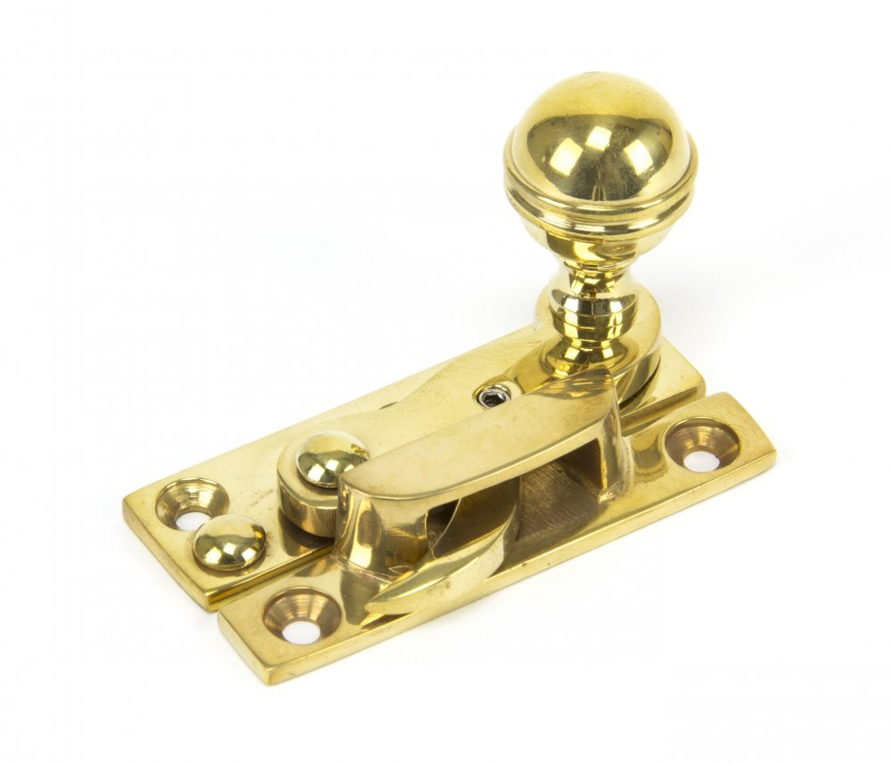 Polished Brass Standard Hook Fastener image