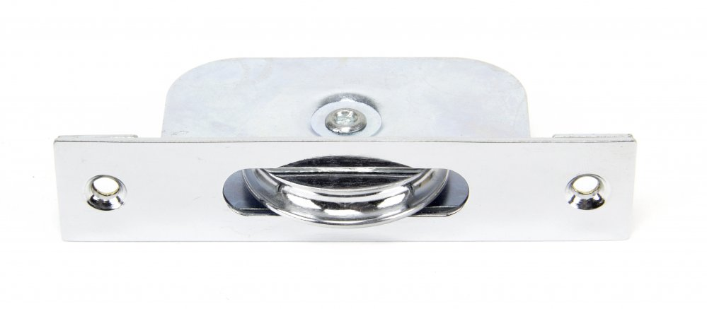 Polished Chrome Square Ended Sash Pulley 75kg image