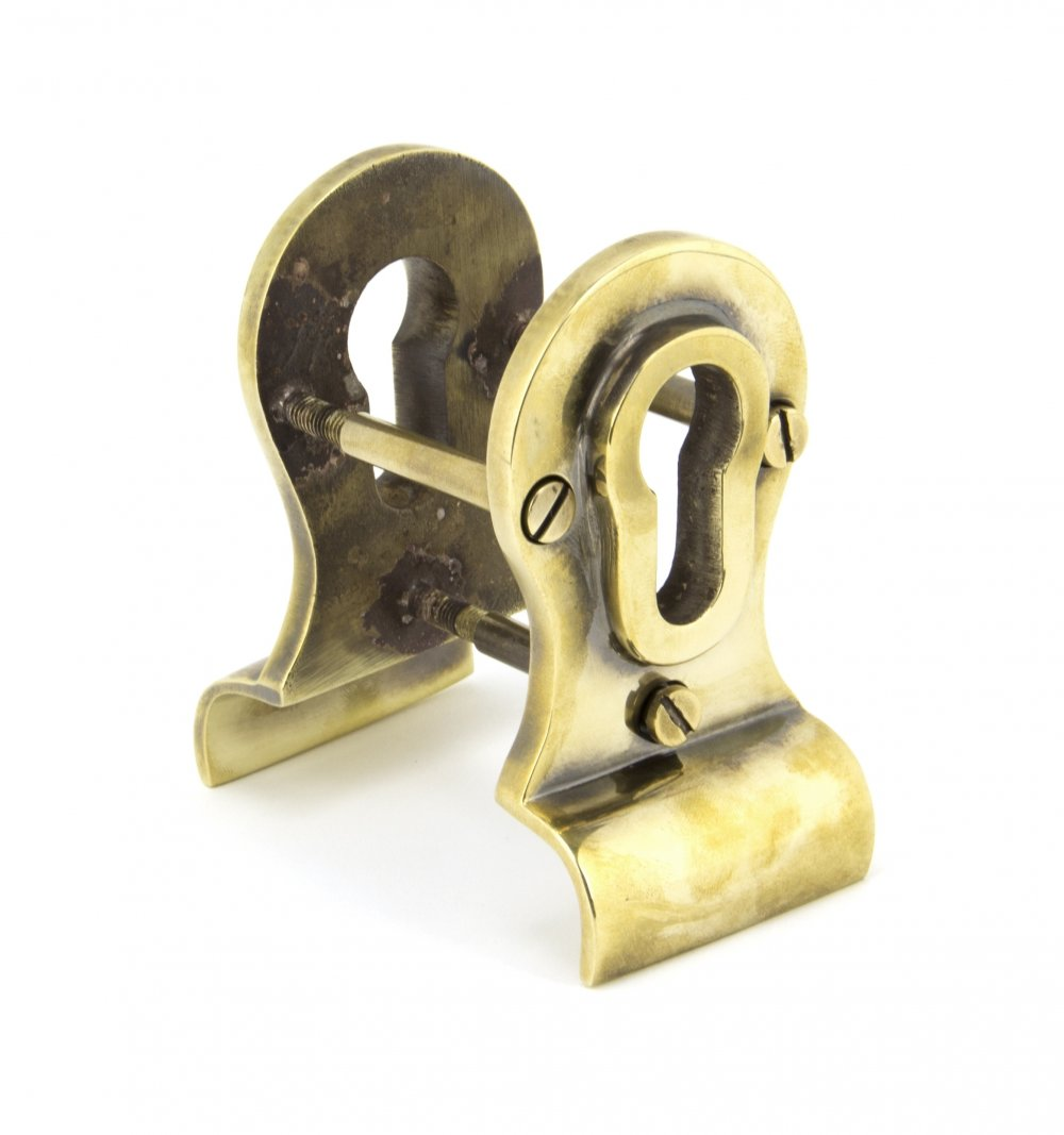 Aged Brass 50mm Euro Door Pull (Back to Back fixings) image
