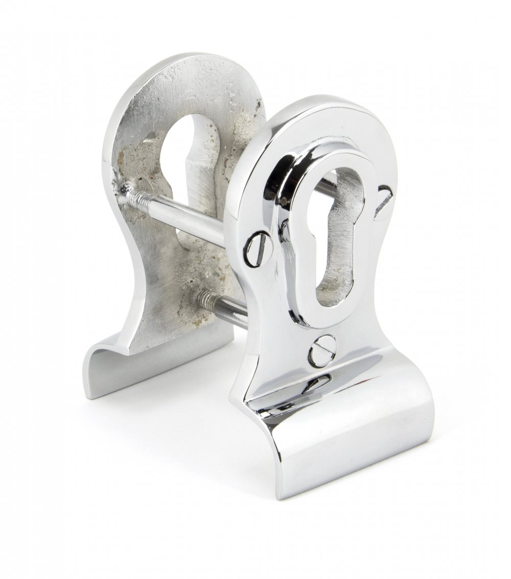 Polished Chrome 50mm Euro Door Pull (Back to Back fixings) image