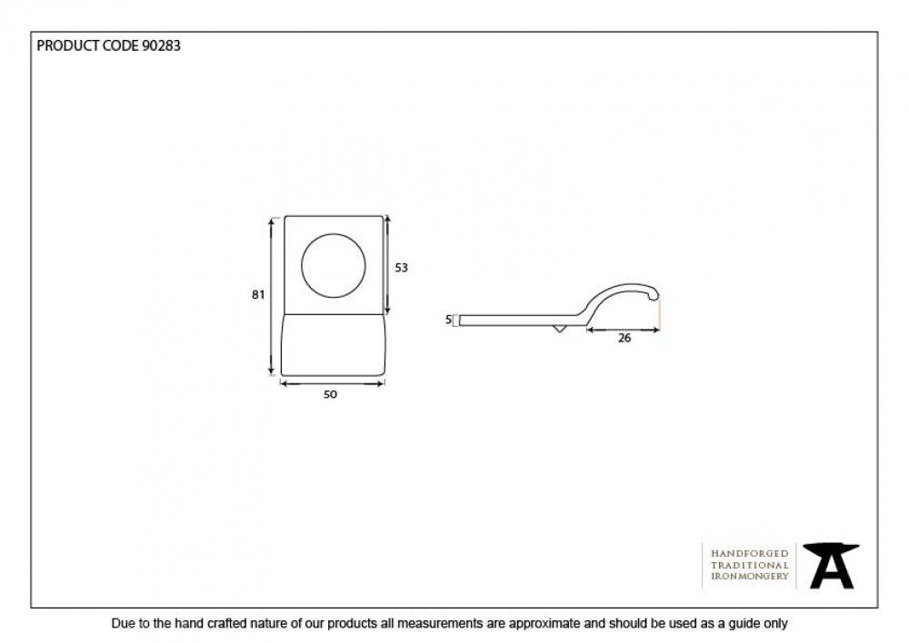 Polished Brass Rim Cylinder Pull image