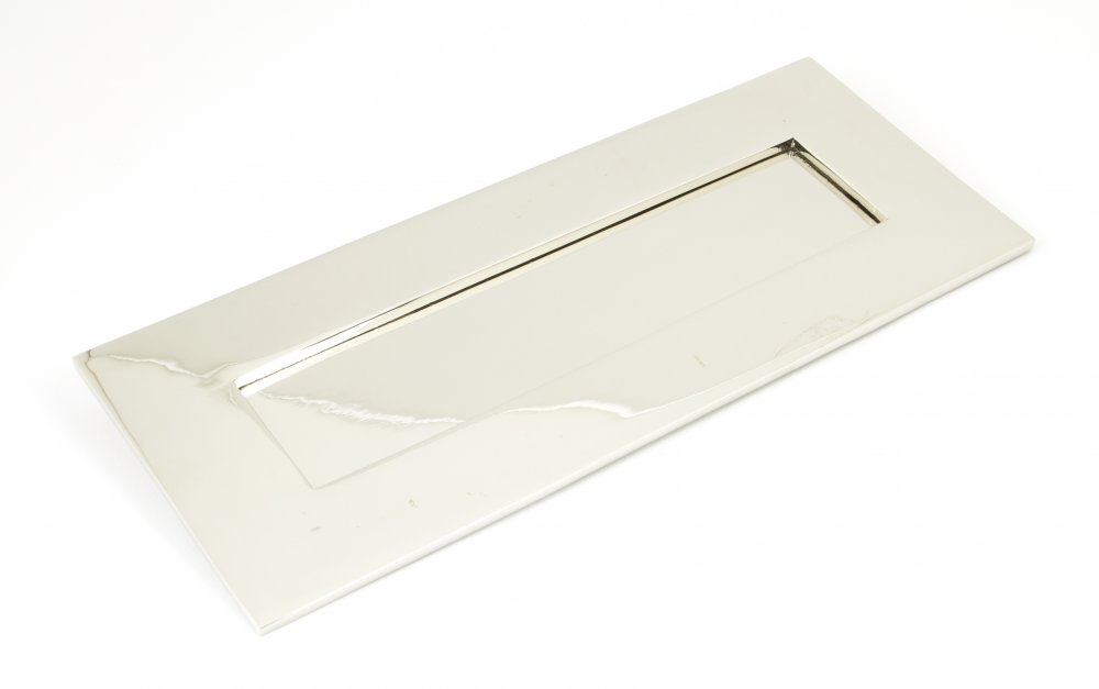 Polished Nickel Letterplate - Small image
