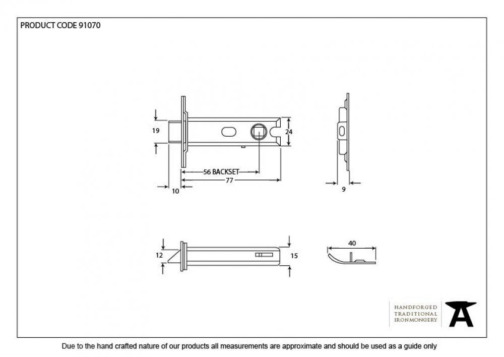 SSS 3'' Heavy Duty Latch image