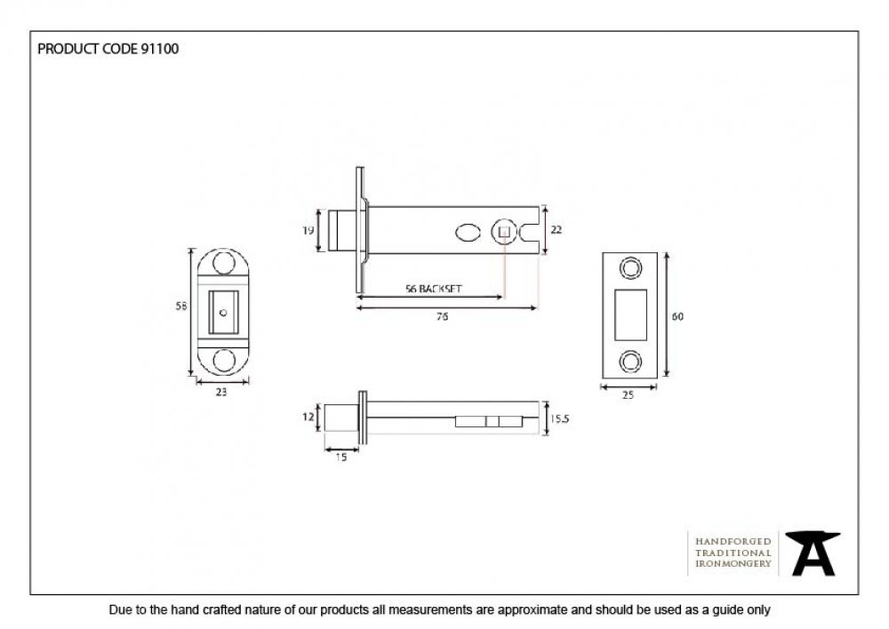 SSS 3'' Heavy Duty Tubular Deadbolt image