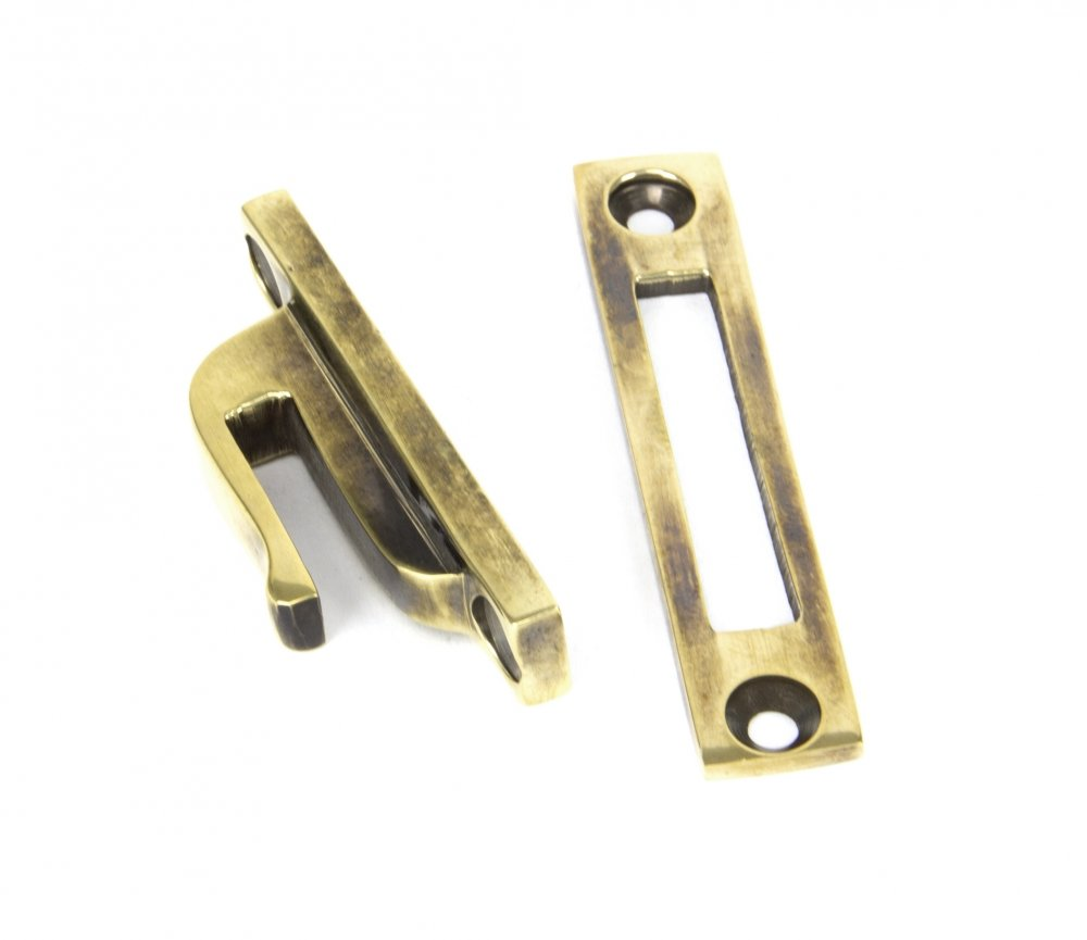 Aged Brass Locking Newbury Fastener image