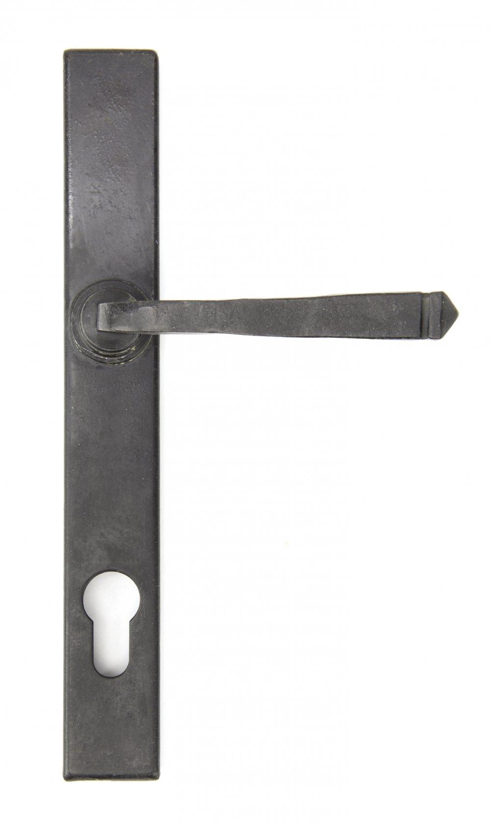 External Beeswax Avon Slimline Lever Espag. Lock Set image