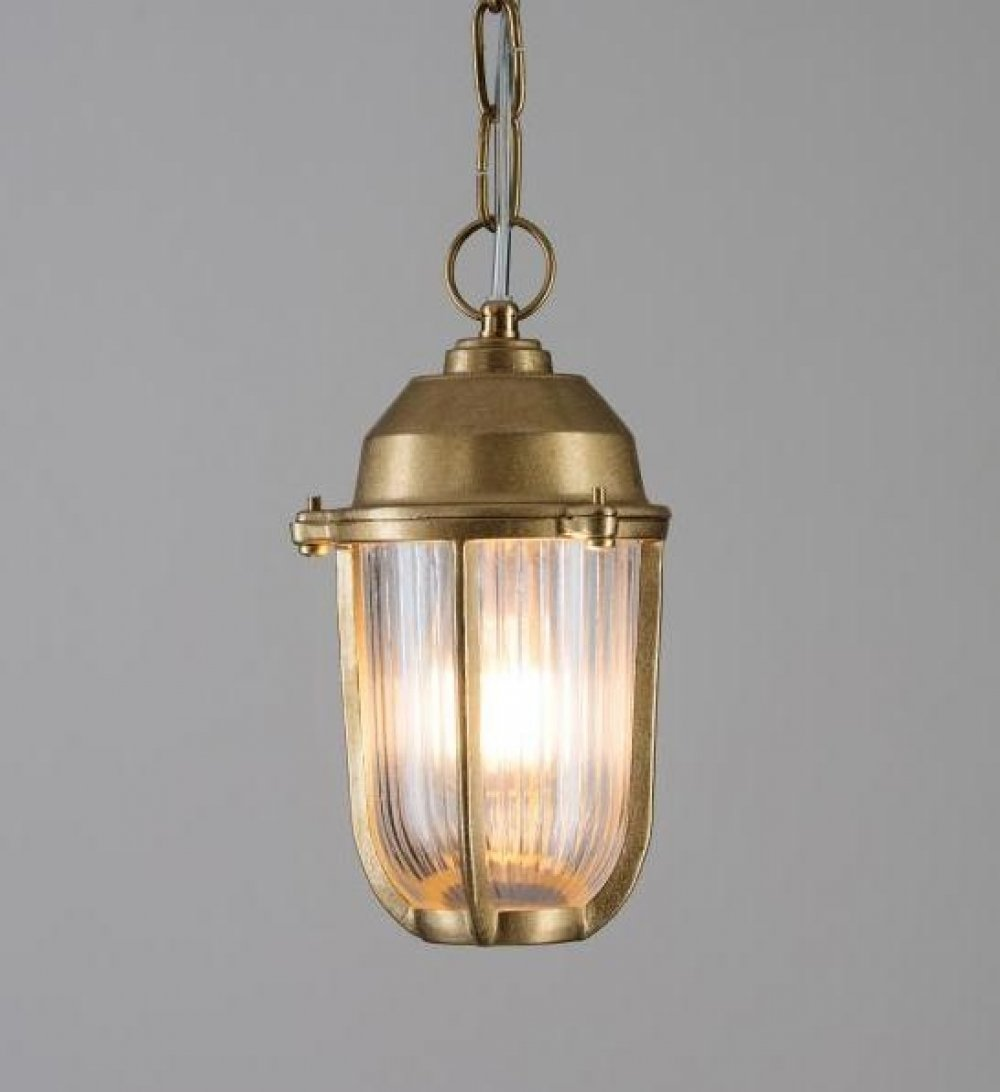 Brass Boatyard Outdoor Porch Light