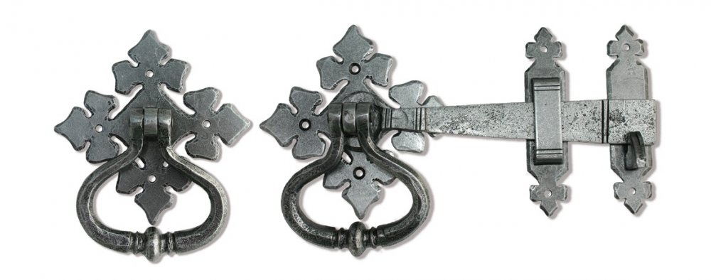 Pewter Shakespeare Latch Set image