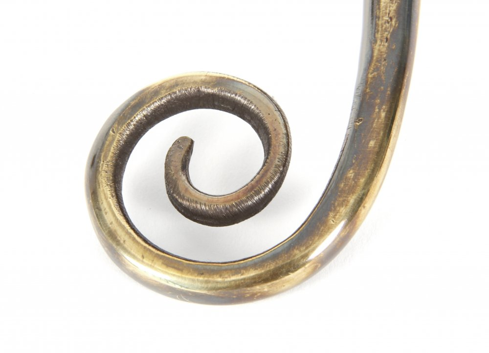 Aged Brass Monkeytail Fastener image