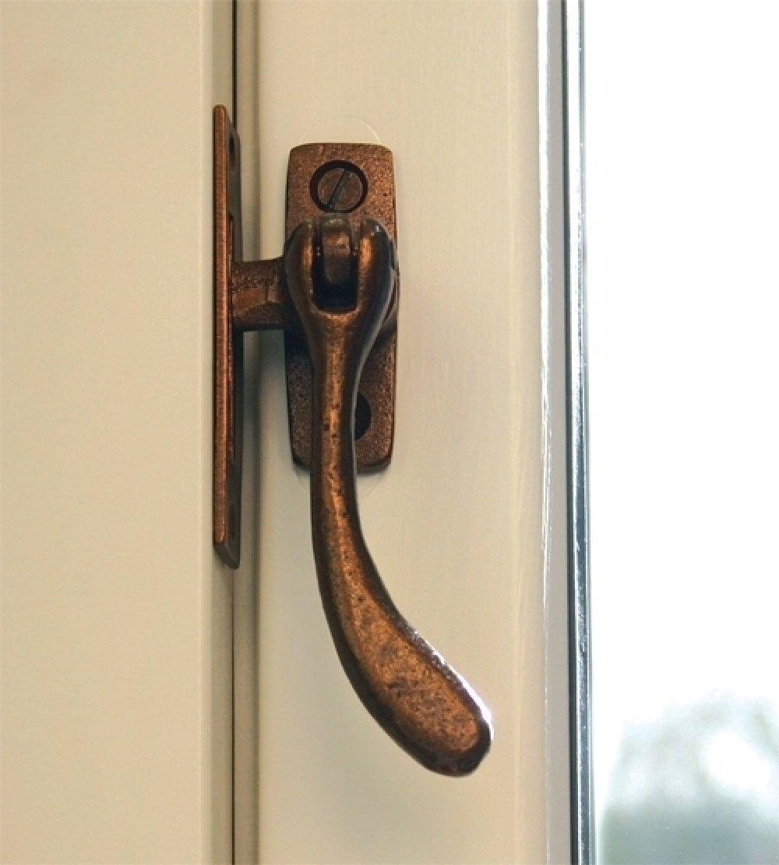 Bronze Handmade Peardrop Fastener image