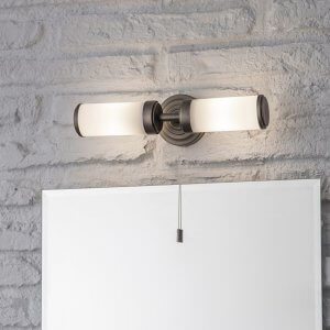 Double Bathroom Wall Light
