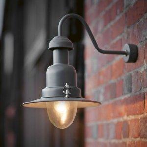 Wall Mounted Fishing Light - Charcoal save 15%