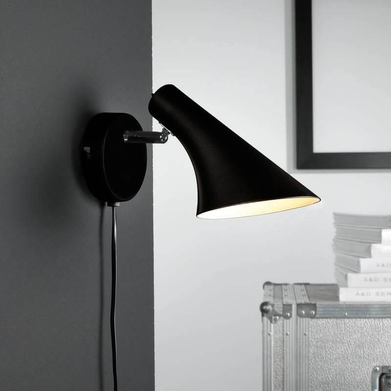 Olso wall light - Black